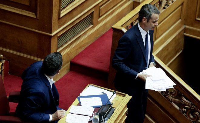 Συζήτηση και ψηφοφορία στην ολομέλεια της βουλής για την πρόταση του Πρωθυπουργού για ψήφο εμπιστοσύνης στην Κυβέρνηση, Τετάρτη 8 Μάη.