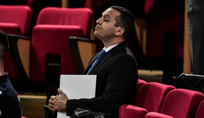 Απολογία του πρώην βουλευτή Ηλία Κασιδιάρη στην δίκη της Χρυσής Αυγής ενώπιον του Τριμελούς Εφετείου Καλουργημάτων