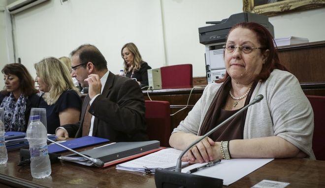 Η Γενική Επιθεωρήτρια Δημόσιας Διοίκησης, Μαρίας Παπασπύρου