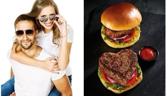 Μα τον Άγιο Βαλεντίνο: Αλυσίδα super market στη Βρετανία πουλάει burger σε σχήμα καρδιάς