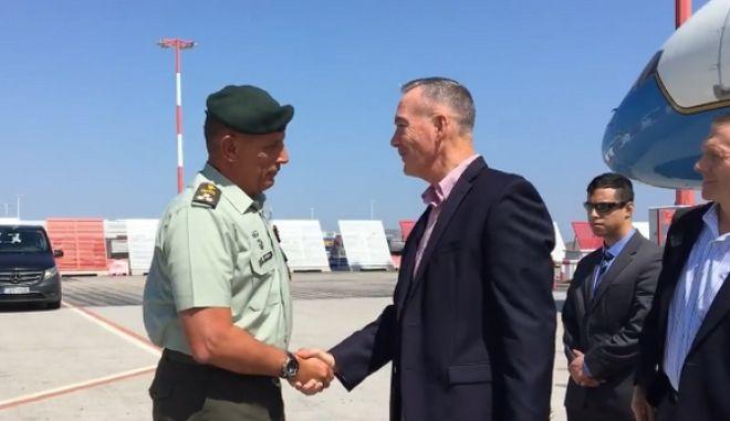 Στην Ελλάδα ο Αμερικανός αρχηγός των Ενόπλων Δυνάμεων