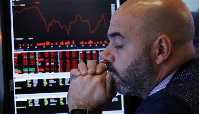Στιγμιότυπο από το χρηματιστήριο της Νέας Υόρκης