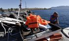 Four people have died  in a crash involving a pleasure boat and a speedboat off the Greek island of Aegina on Aug. 16, 2016 /          16 , 2016