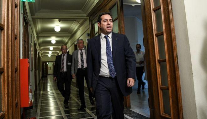 Ο υφυπουργός Εργασίας Νότης Μηταράκης. Φωτογραφία αρχείου.