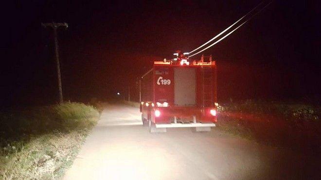Λάρισα: Κατέπεσε μονοκινητήριο αεροσκάφος
