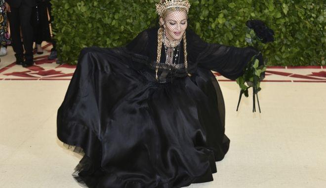 H Madonna σε γκαλά στο  Metropolitan Museum of Arts
