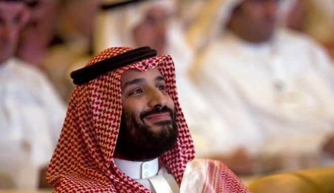 Ο διάδοχος του θρόνου της Σ. Αραβίας, πρίγκιπας Μοχάμεντ μπιν Σαλμάν