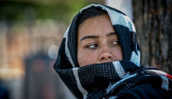Πρόσφυγες στην Πλατεία Βικτωρίας