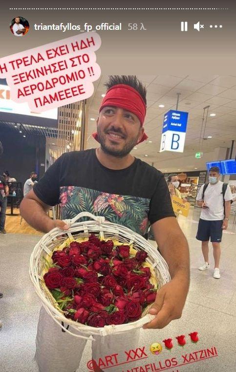 Survivor - Τριαντάφυλλος: Χαμός στην υποδοχή στο Ελ. Βενιζέλος