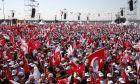 Συγκέντρωση υποστηρικτών του Ρεπουμπλικανικού Κόμματος στην Κωνσταντινούπολη