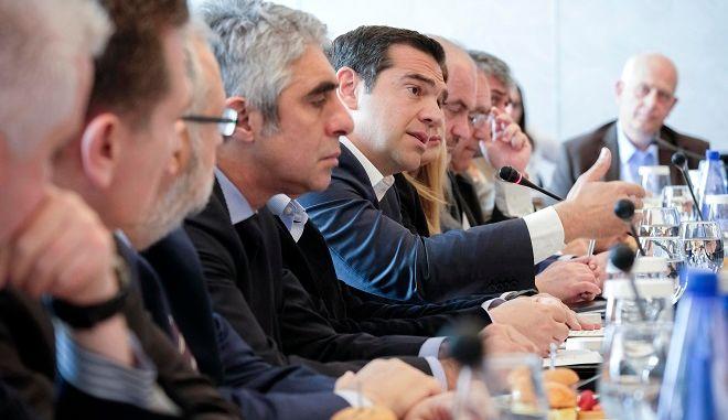 Θεσσαλονίκη: Συνάντηση Αλέξη Τσίπρα με 40 επιχειρηματίες
