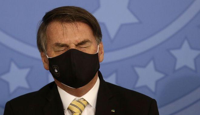 O πρόεδρος της Βραζιλίας. Φωτό αρχείου.