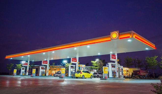 Πρατήριο της Shell που διαχειρίζεται η Coral, εταιρεία του Ομίλου Βαρδινογιάννη
