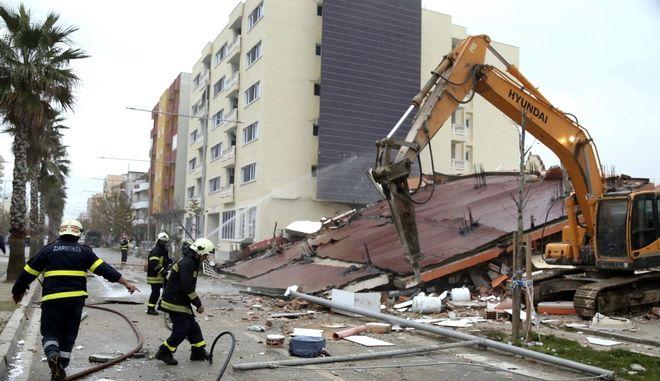 Καταστροφές προκάλεσε ο σεισμός της 26ης Νοεμβρίου στην Αλβανία.