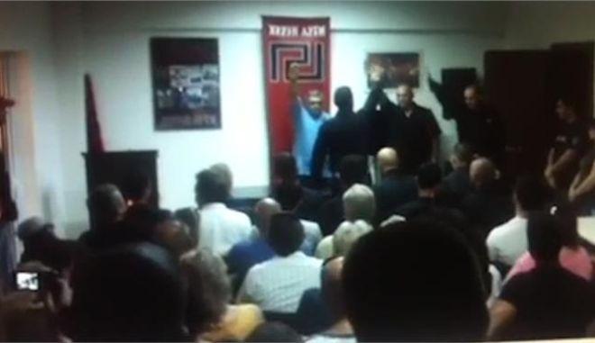"""Μιχαλολιάκος: """"Είμαστε η σπορά των νικημένων του 1945, οι εθνικοσοσιαλιστές, οι φασίστες!"""""""