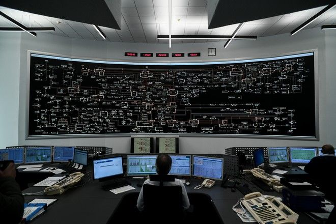 To Κέντρο Ελέγχου του ΑΔΜΗΕ στο Κρυονέρι