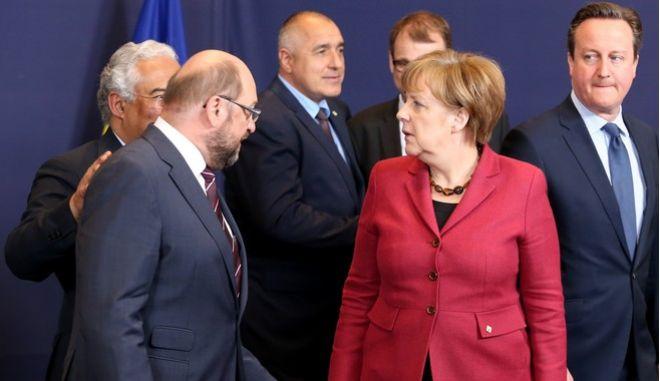 Μέρκελ - Σουλτς: Ούτε λέξη για την Ελλάδα στο debate, που έγινε σχεδόν ντουέτο