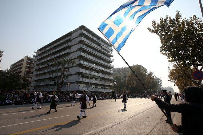 Θεσσαλονίκη, στρατιωτική παρέλαση για την επέτειο της 28ης Οκτωβρίου