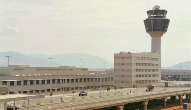 Πανοραμική φωτογραφία του αεροδρομίου