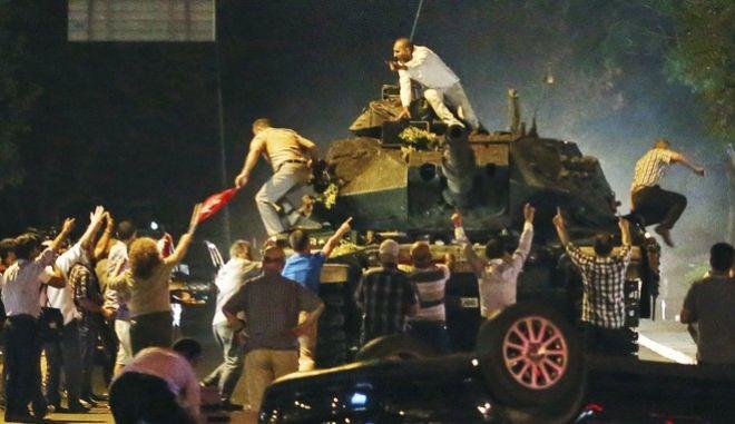 Πραξικόπημα στην Τουρκία το 2016