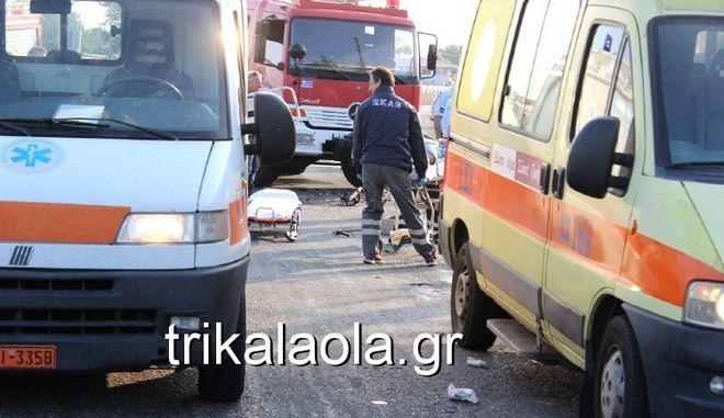 Φρικτό τροχαίο στα Τρίκαλα: Νταλίκα πολτοποίησε ποδηλάτη