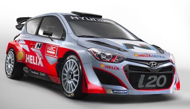 Ετοιμοπόλεμο το νέο όπλο της Hyundai για το Π.Π.Ράλι, το i20 WRC