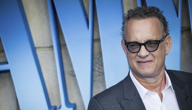 Ο Tom Hanks στην πρεμιέρα της ταινίας 'Mamma Mia! Here We Go Again'στο Λονδίνο