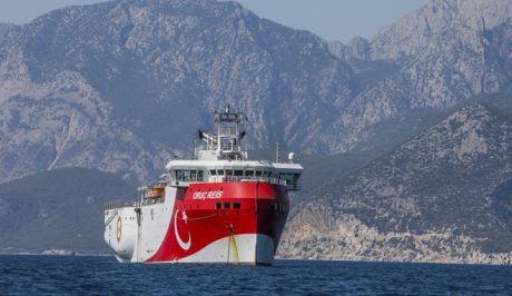 Το τουρκικό σκάφος Oruc Reis