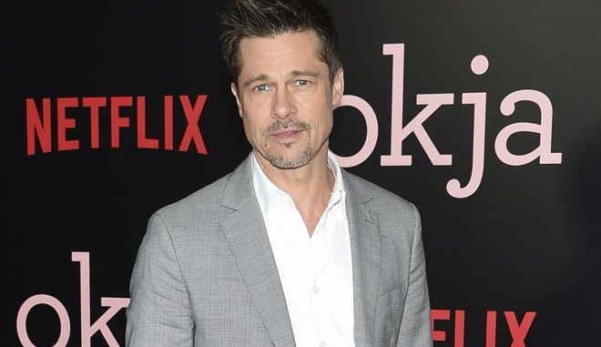 """Executive producer Brad Pitt attends the premiere of Netflix's """"Okja"""" at AMC Loews Lincoln Square on Thursday, June 8, 2017, in New York. (Photo by Evan Agostini/Invision/AP)"""