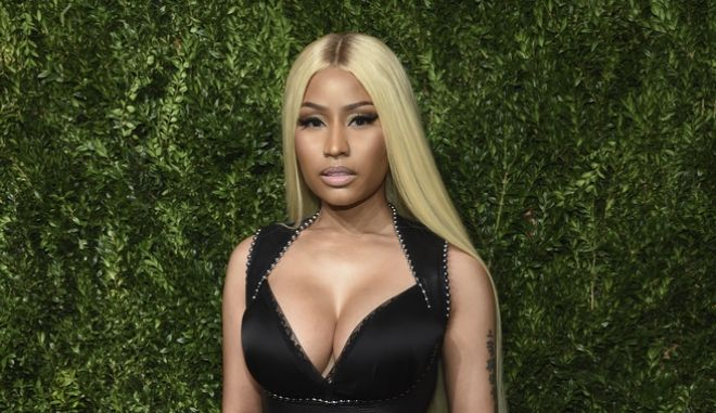 Η Nicki Minaj στο 14ο CFDA Vogue Fashion Fund Gala