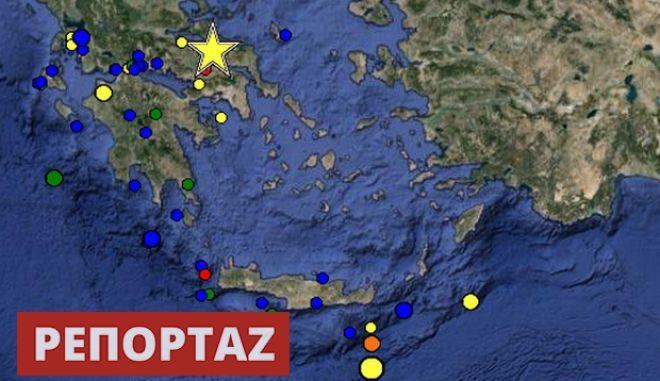 Σεισμός στον Βόρειο Ευβοϊκό: Σε άμεση συνάρτηση με το μεγάλο ρήγμα της Αταλάντης. Δεν περίμεναν τα 5,3 Ρίχτερ οι σεισμολόγοι