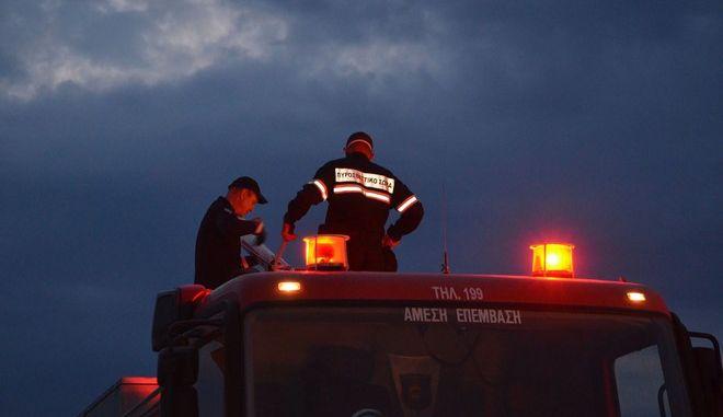 ΑΡΓΟΣ-Φωτιά ξέσπασε στη χωματερή του Δήμου Άργους-Μυκηνών στη περιοχή Μπομπέικα αργά το απόγευμα από άγνωστα μέχρι στιγμής αίτια.Για την κατάσβεση της πυρκαγιάς επιχειρούν 4 πυροσβεστικά οχήματα με 8 πυροσβέστες και χωματουργικά μηχανήματα του Δήμου Άργους-Μυκηνών.(Eurokinissi-ΠΑΠΑΔΟΠΟΥΛΟΣ ΒΑΣΙΛΗΣ)