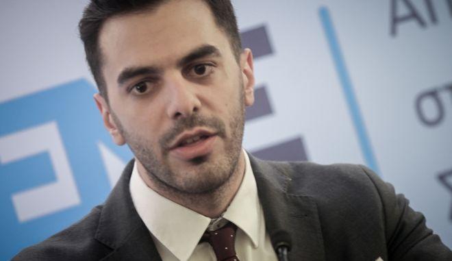 Ο γραμματέας του ΚΙΝΑΛ Μανώλης Χριστοδουλάκης