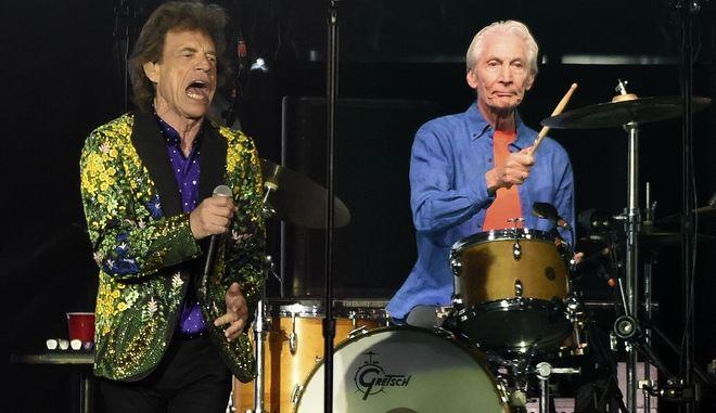 Από εμφάνιση των Rolling Stones με τον Charlie Watts, το 2019