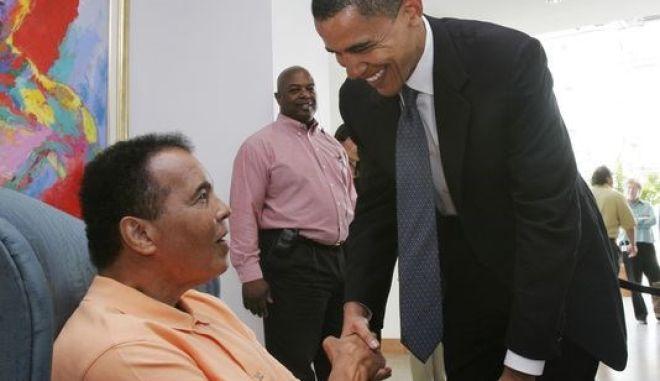 Ομπάμα για Μοχάμεντ Άλι: Συγκλόνισε τον κόσμο και ο κόσμος είναι καλύτερος γι' αυτό
