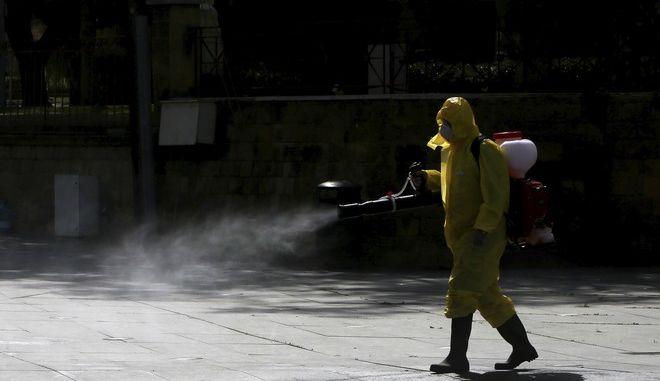 Καθαρισμός δρόμων στην Κύπρο