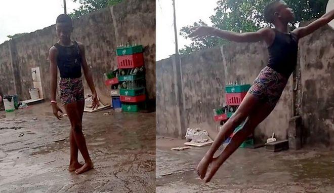 Ο Νιγηριανός Billy Elliot: Υποτροφία σε 11χρονο μετά απο βιντεο που έγινε viral