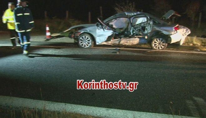 Κόρινθος: Νεκρός 45χρονος σε τροχαίο δυστύχημα στην εθνική