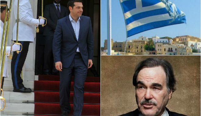 Viva Tsipras: Το μήνυμα συμπαράστασης του Oliver Stone στον Έλληνα πρωθυπουργό