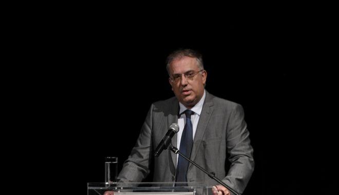 Ο υπουργός Εσωτερικών Τάκης Θεοδωρικάκος.