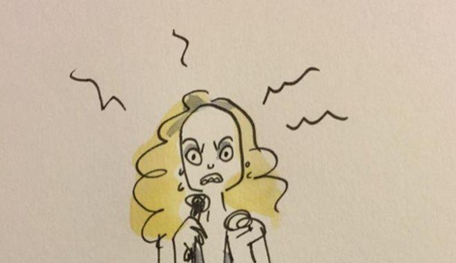 Eurovision 2015: Η Ελλάδα και οι 26 άλλες συμμετοχές σε σκίτσα