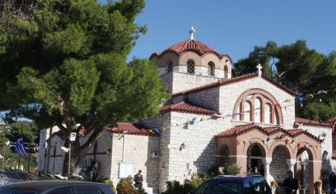 Κηδεία Κοκοσαλάκη: Ο ιερός ναός Παναγίας Ελευθερώτριας στην Πολιτεία