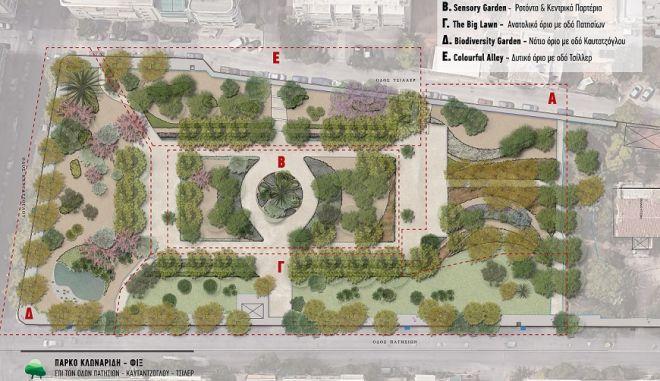 Η Ολυμπιακή Ζυθοποιία στηρίζει την ανάπλαση του Πάρκου ΦΙΞ από τον Δήμο Αθηναίων