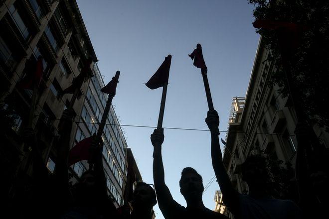Συγκέντρωση ενάντια στο νομοσχέδιο για τις διαδηλώσεις