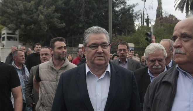 Συλλαλητήριο από το ΠΑΜΕ ενάντια στο πολυνομοσχέδιο την Κυριακή 22 Μαΐου 2016. (EUROKINISSI/ΣΤΕΛΙΟΣ ΣΤΕΦΑΝΟΥ)