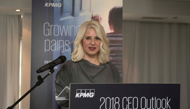 H Σιάνα Κυριάκου, Γενική Διευθύντρια & COO της KPMG