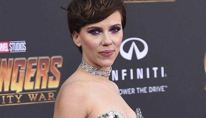 Η ηθοποιός Scarlett Johansson