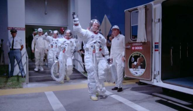 """""""Apollo 11"""": Δείτε για πρώτη φορά νέα πλάνα από την ιστορική αποστολή στη Σελήνη"""