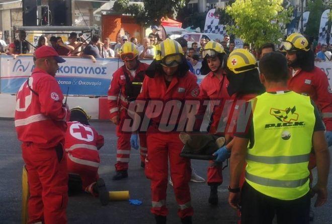 Δύο ατυχήματα σε αγώνα καρτ στην Πάτρα - Ένας οδηγός στο νοσοκομείο