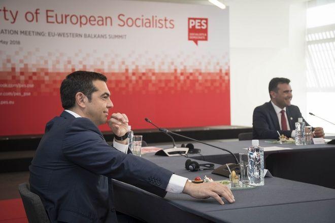Συμμετοχή του Πρωθυπουργού Αλέξη Τσίπρα στην προπαρασκευαστική Σύνοδο του Ευρωπαϊκού Σοσιαλιστικού Κόμματος